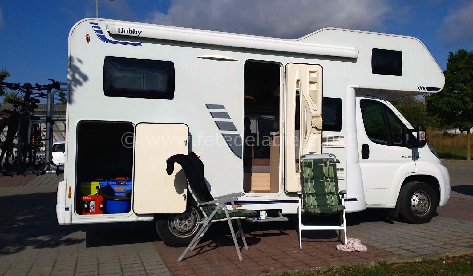 Ou Se Stationner En Camping Car