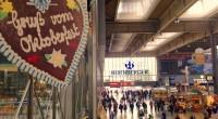 La gare de Munich avant l'Oktoberfest
